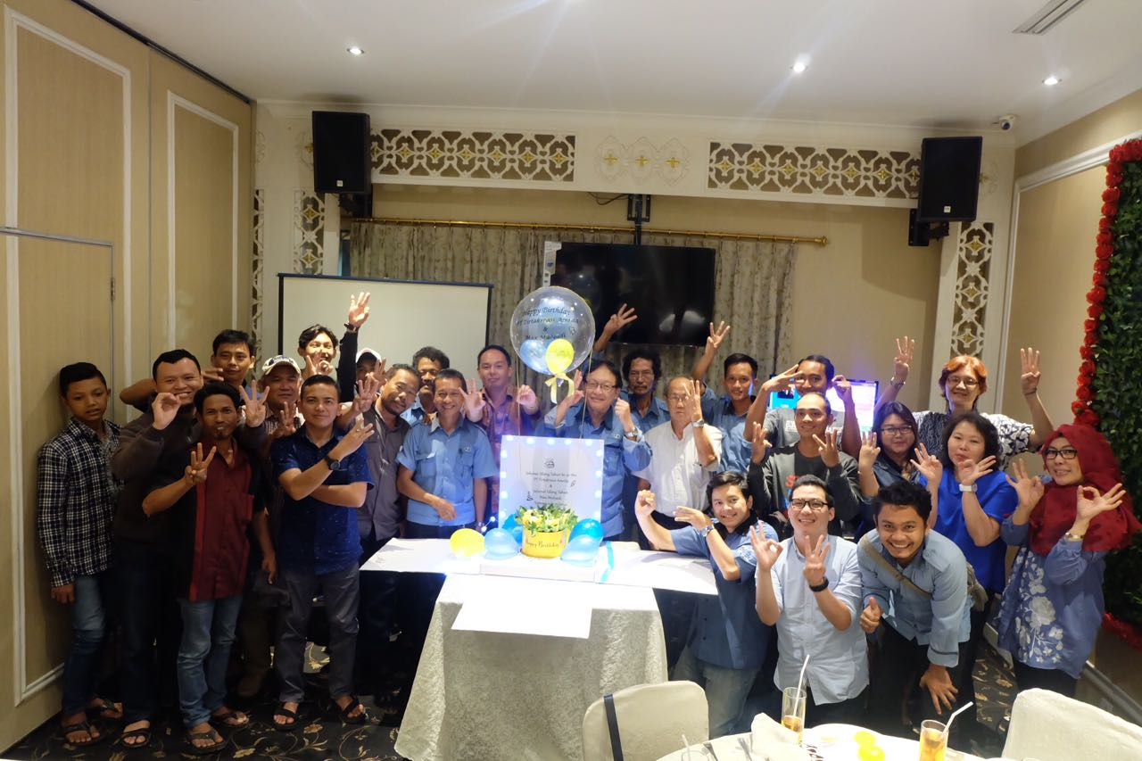 NEWS ABOUT OUR COMPANY AND ACTIVITIES - COMPANY'S BIRTHDAY CELEBRATION